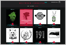 Weltraumgangster - Shop and Website Administration